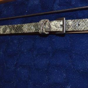 Python Print Textured Old Navy Belt